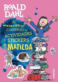 Portada El maravilloso cuaderno de actividades y stickers de Matilda