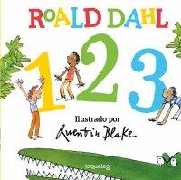 Portada Roald Dahl. 1, 2, 3