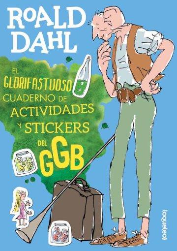 Portada El glorifastuoso cuaderno de actividades y stickers del GGB