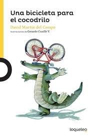 Portada Una bici para el cocodrilo