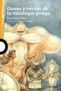 Portada Dioses y héroes de la mitología griega