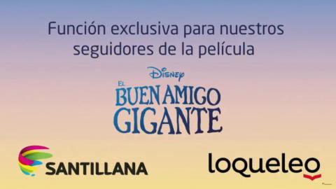 EL BUEN AMIGO GIGANTE FUNCIÓN