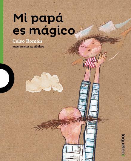 Mi papá es mágico, book cover