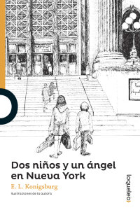 Portada Dos niños y un ángel en Nueva York