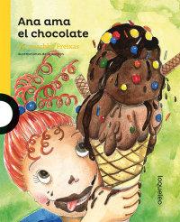 Portada Ana ama el chocolate