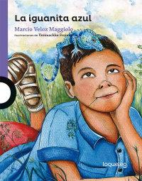Portada La iguanita azul