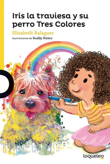 Portada Iris la traviesa y su perro Tres colores