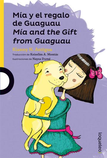 Portada Mía y el regalo de Guaguau