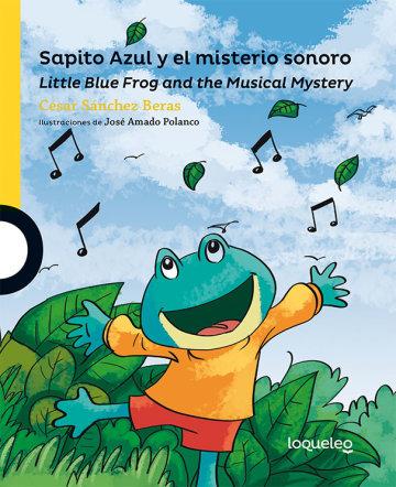 Portada Sapito Azul y el misterio sonoro