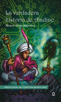 Portada La verdadera historia de Aladino