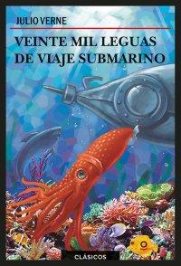 Portada Veinte mil leguas de viaje submarino