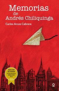 Portada Memorias de Andrés Chiliquinga