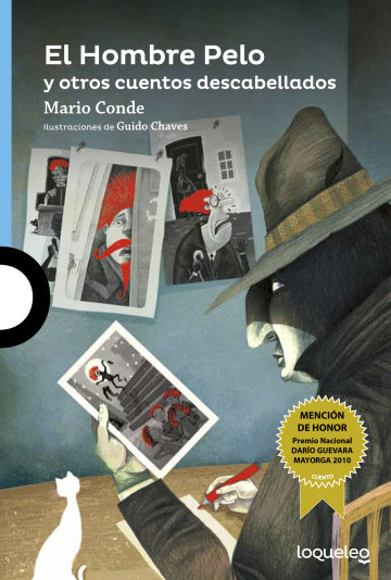 Portada El Hombre Pelo y otros cuentos descabellados