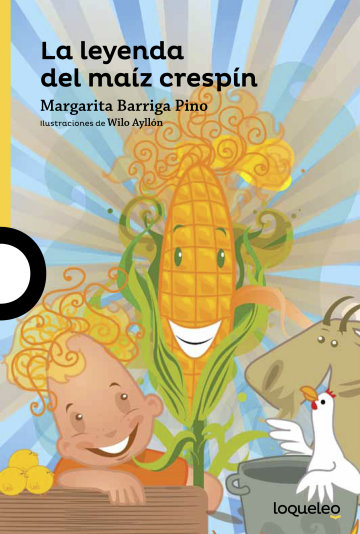 Portada La leyenda del maíz crespín