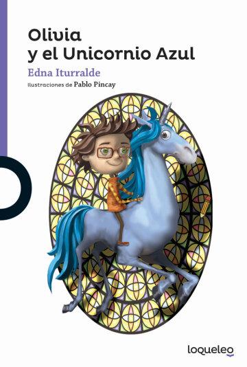 Portada Olivia y el Unicornio Azul