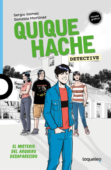 Portada Quique Hache, detective