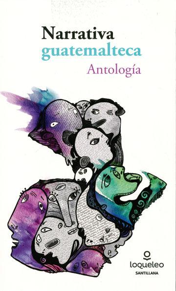 Portada Antología narrativa guatemalteca