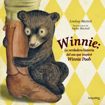 Portada Winnie, la verdadera historia del oso