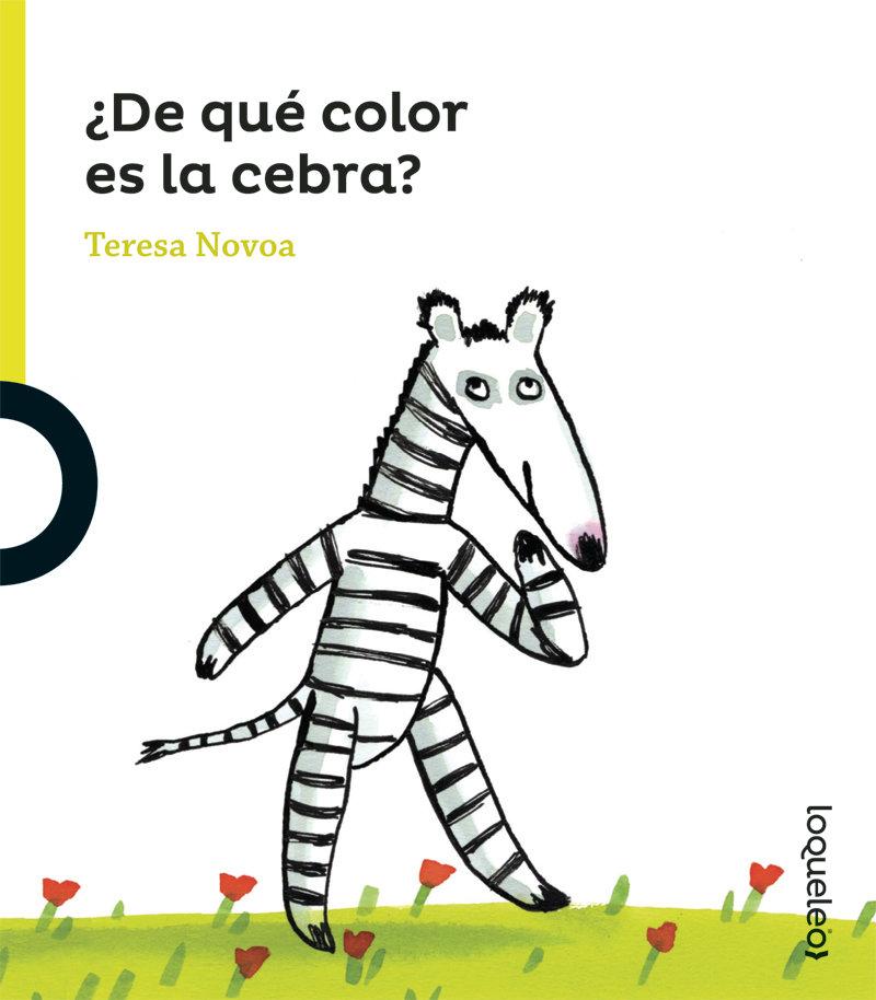 De qué color es la cebra?