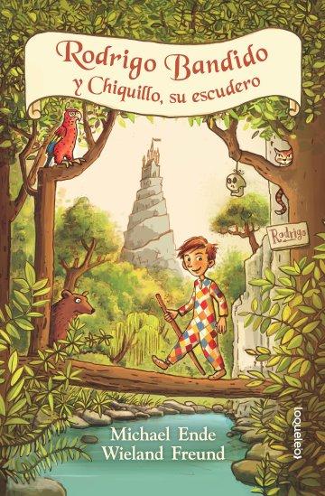 Portada Rodrigo Bandido y chiquillo, su escudero