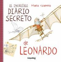 Portada El increíble diario secreto de Leonardo