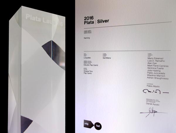 Premio Laus de Plata 2016