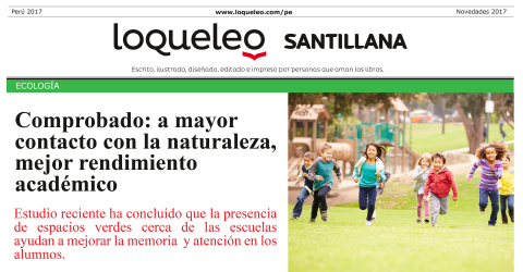 Ecologia noticia Loqueleo