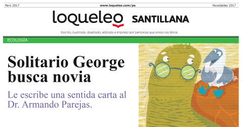 Solitario George busca novia