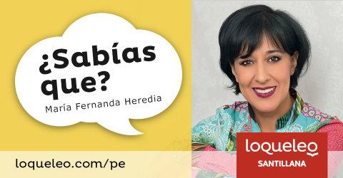 María Fernanda Heredia: ¿Sabías que?