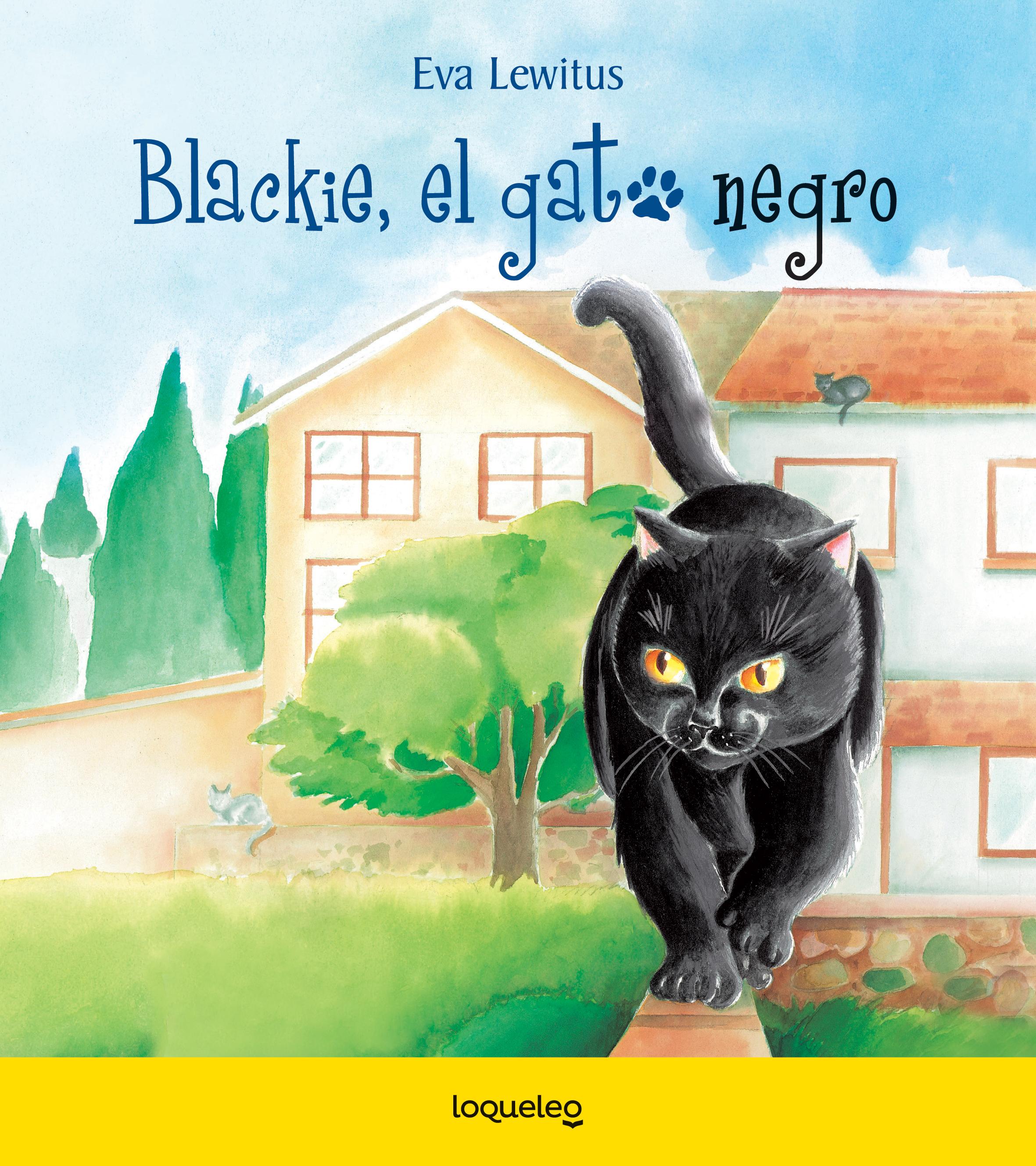 Blackie, el gato negro