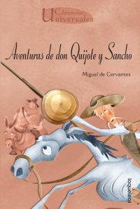 Portada Aventuras de don Quijote y Sancho