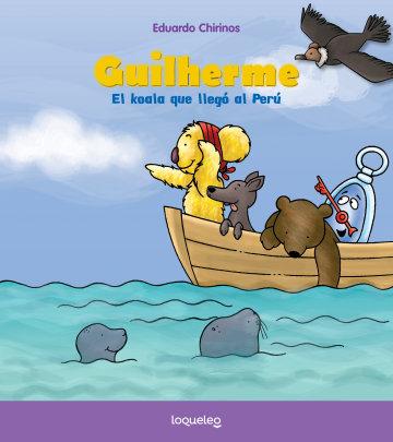 Portada Guilherme, el koala que llegó al Perú