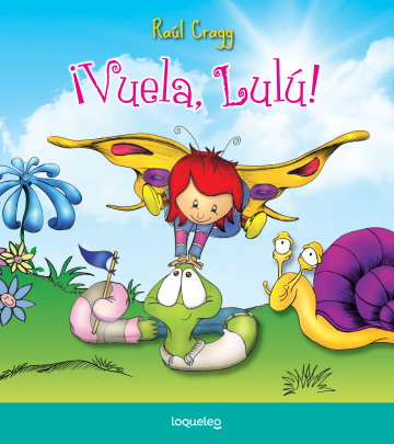 Portada ¡Vuela, Lulú!