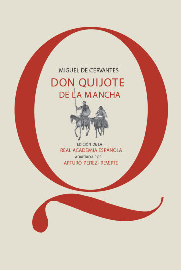 Portada Don Quijote de la Mancha (RAE)