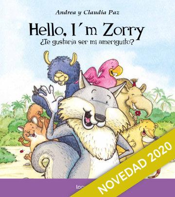 Portada Hello, I'm Zorry. ¿Te gustaría ser mi ameriguito?