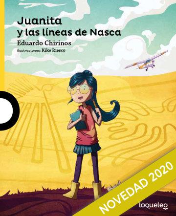 Portada Juanita en las líneas de Nazca