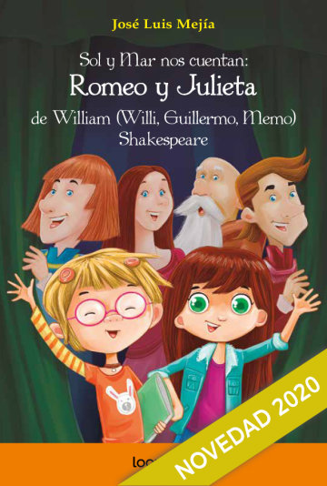 Portada Sol y Mar nos cuentan: Romeo y Julieta de William (Willy, Guillermo, Memo) Shakespeare