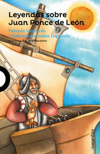 Portada Leyendas sobre Juan Ponce de León