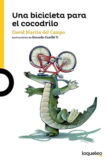 Portada Una bicicleta para el cocodrilo