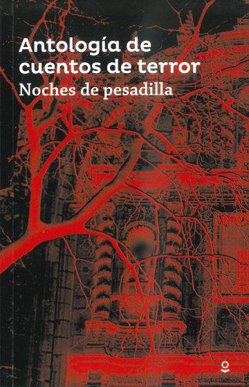 Portada Antología cuentos de Terror. Noches de pesadilla