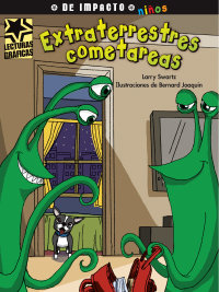 Cover Extraterrestres cometareas