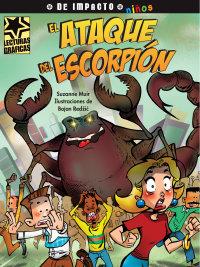 Cover El ataque del escorpión