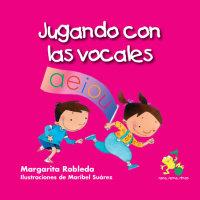 Cover Jugando con las vocales