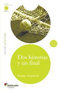 Cover Dos historias y un final (Libro + CD)
