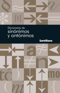 Cover Diccionario de sinónimos y antónimos