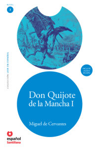 Cover Don Quijote de la Mancha I (Libro + CD)