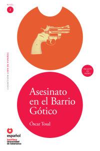 Cover Asesinato en el Barrio Gótico (Libro + CD)