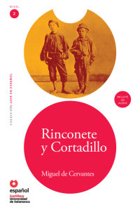 Cover Rinconete y Cortadillo (Libro + CD)