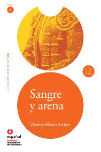Cover Sangre y arena (Libro + CD)