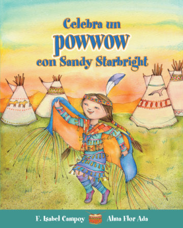 Cover Celebra un powwow con Sandy Starbright